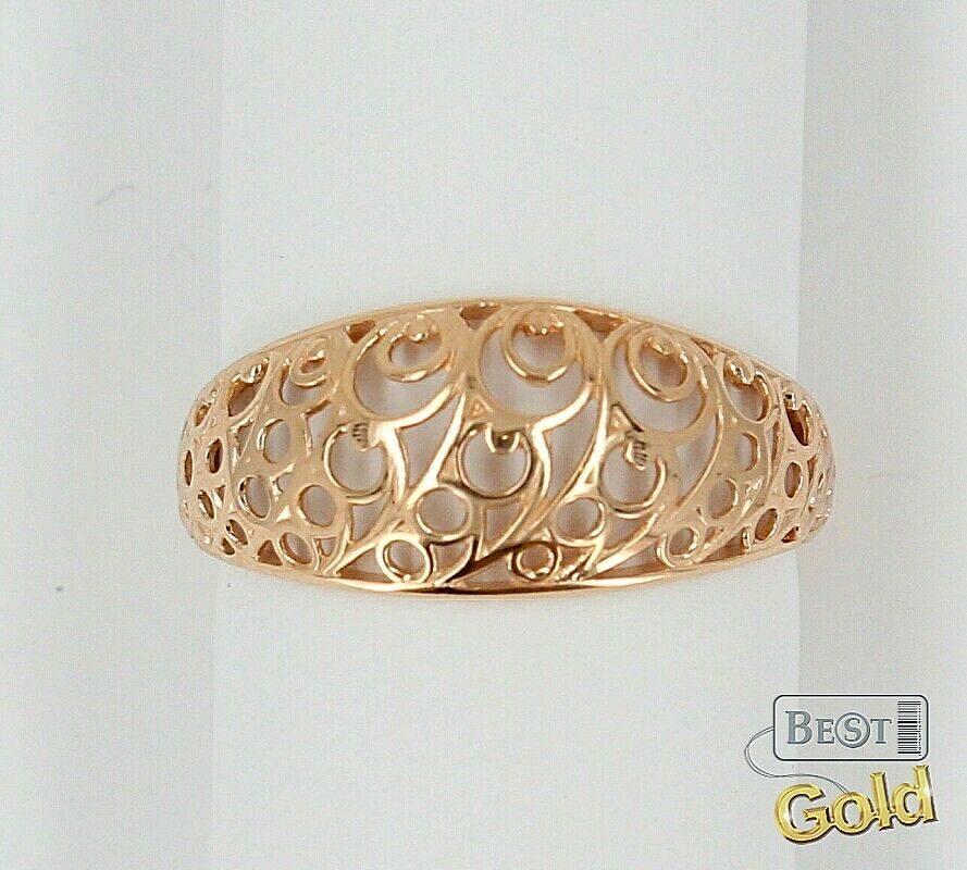 кольца без вставок золото